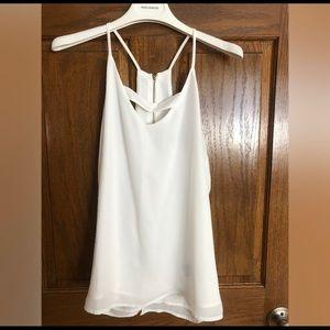 White blouse, tank